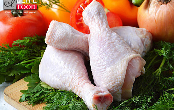 poultry processing, leg quarters